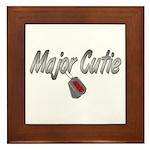 USCG Major Cutie ver2 Framed Tile