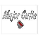 USCG Major Cutie ver2 Small Poster