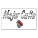 USCG Major Cutie ver2 Rectangle Sticker