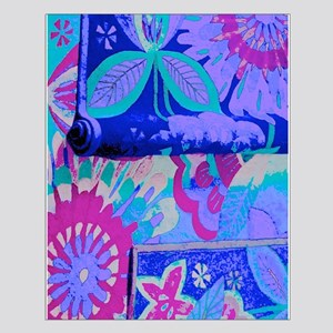 Fanciful Flowers Posters Small Poster
