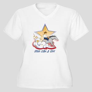 SlideLikeAGirl Plus Size T-Shirt
