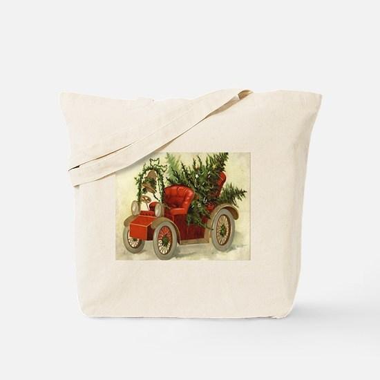Christmas Model A Tote Bag