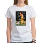 Fairies & Pug Women's T-Shirt