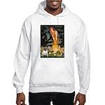 Fairies & Pug Hooded Sweatshirt