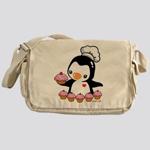 Cooking Penguin Messenger Bag