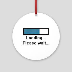 Loading... Please Wait... Ornament (Round)