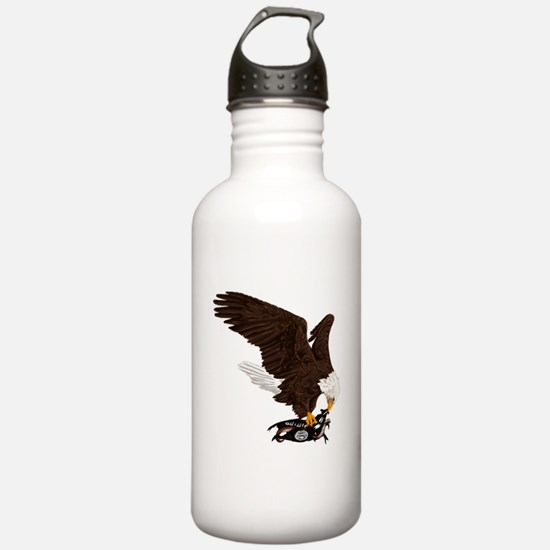Eagle Crushes ISIS Water Bottle