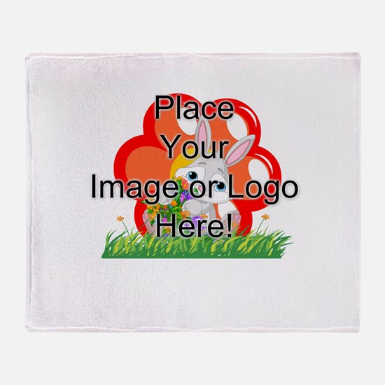 Image Only Throw Blanket