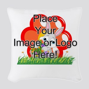 Image Only Woven Throw Pillow
