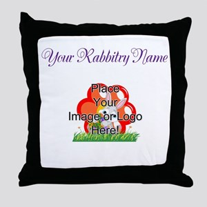 Add your Logo Throw Pillow