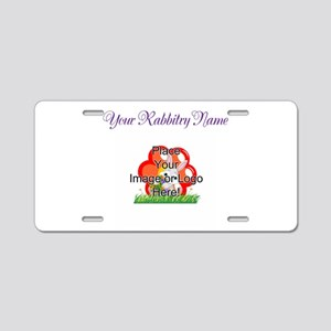 Add your Logo Aluminum License Plate