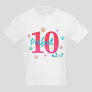 Perfect 10 x2+1 Kids Light T-Shirt