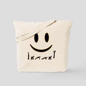 Burpee Smile Tote Bag