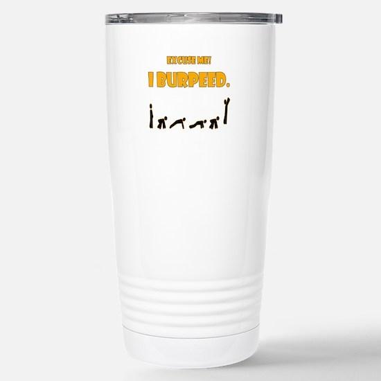 I Burpeed Stainless Steel Travel Mug