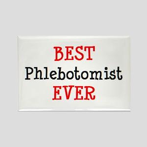 best phlebotomist Rectangle Magnet