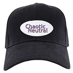 Chaotic Neutral Baseball Hat
