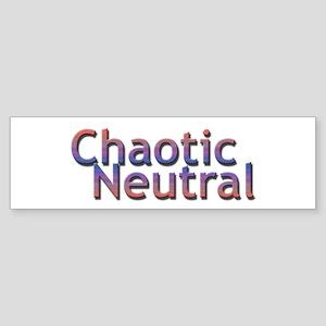 Chaotic Neutral Bumper Sticker