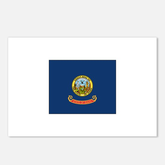 Idaho Flag Postcards (Package of 8)