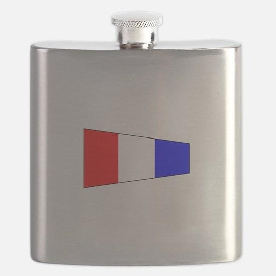 Pennant Flag Number 3 Flask