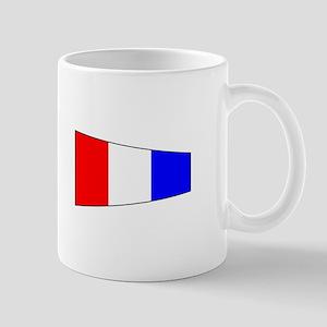 Pennant Flag Number 3 Mugs