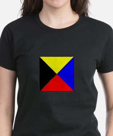 ICS Flag Letter Z T-Shirt