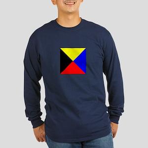 ICS Flag Letter Z Long Sleeve T-Shirt
