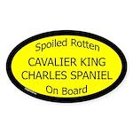 Spoiled Cavalier King Charles Spaniel Sticker
