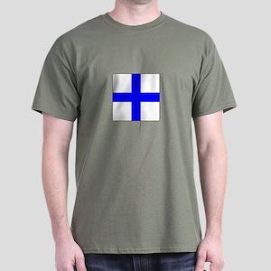 ICS Flag Letter X T-Shirt