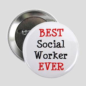 """best social worker 2.25"""" Button"""