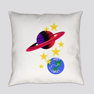 Outer Space Everyday Pillow