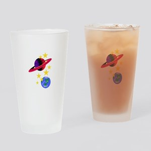 Outer Space Drinking Glass