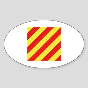 ICS Flag Letter Y Sticker