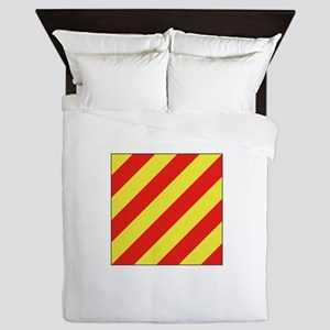 ICS Flag Letter Y Queen Duvet