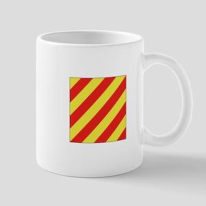 ICS Flag Letter Y Mugs