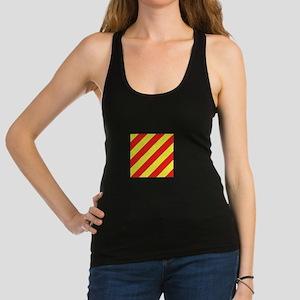 ICS Flag Letter Y Racerback Tank Top