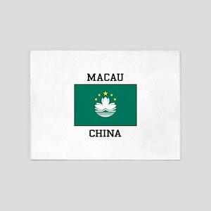Macau, China 5'x7'Area Rug