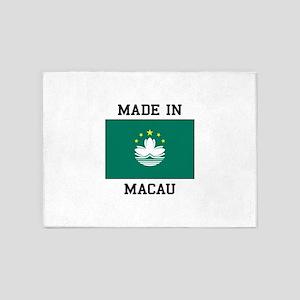 Made in Macau 5'x7'Area Rug
