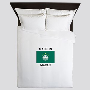 Made in Macau Queen Duvet