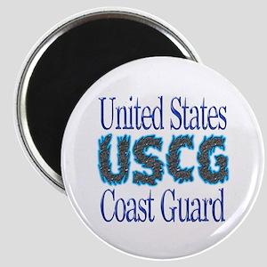 USCG Chrome Magnet