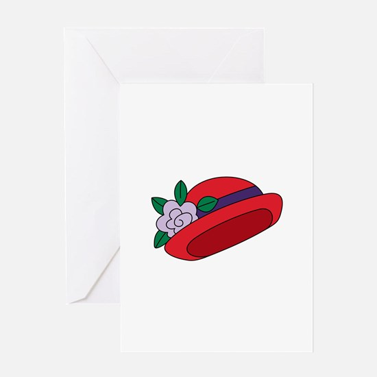 Red Cap Greeting Cards