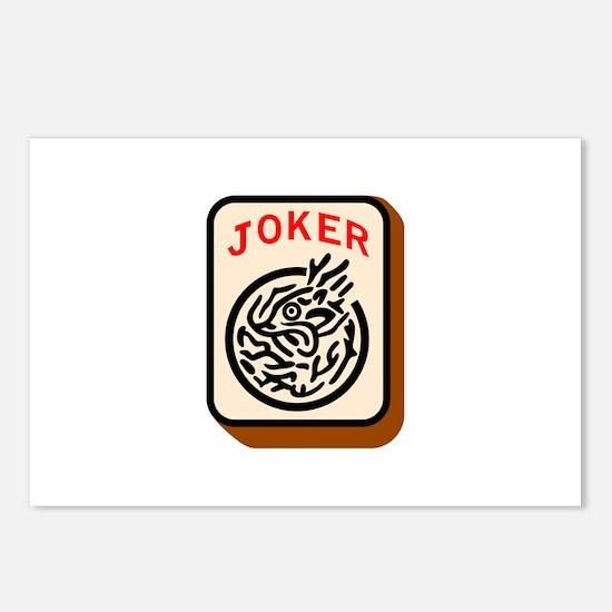 Joker Postcards (Package of 8)