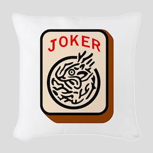 Joker Woven Throw Pillow