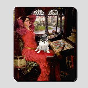 Lady / Pug Mousepad