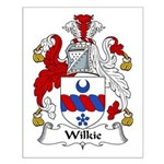 Wilkie Family Crest Small Poster