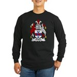 Wilkie Family Crest Long Sleeve Dark T-Shirt