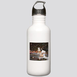 Cats in the wild Stainless Water Bottle 1.0L