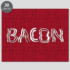 Bacon Typography Puzzle