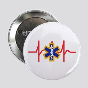 """Star Of Life 2.25"""" Button (10 pack)"""