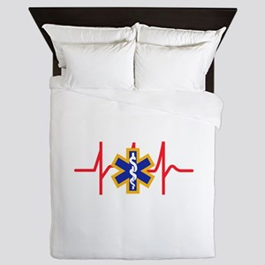 Star Of Life Queen Duvet