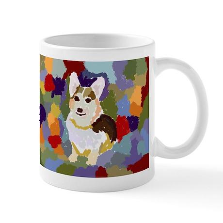 Corgi Colorblock Mug